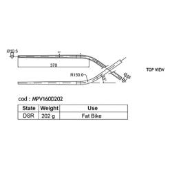 DEDACCIAI MPV160D202 sedlová vzpěra FAT