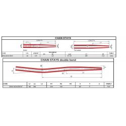 COLUMBUS  ZON114OV470FAT řetězová vzpěra FAT