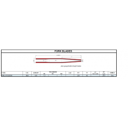 COLUMBUS FBRL16T440DSK001 DISC  noha vidlice
